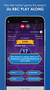 JioChat: Jio KBC Play Along- screenshot thumbnail