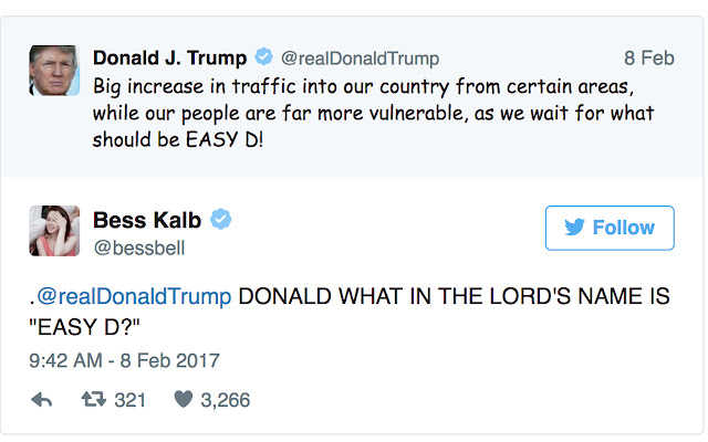 Trump in Comic Sans