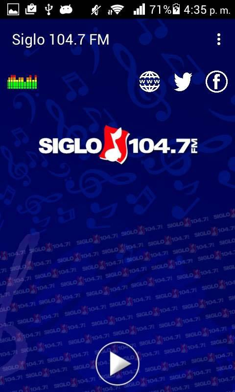 Radio Siglo 104- screenshot