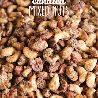 Candied Mixed Nuts.