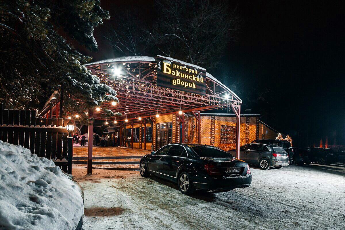 Бакинский дворик в Воронеже