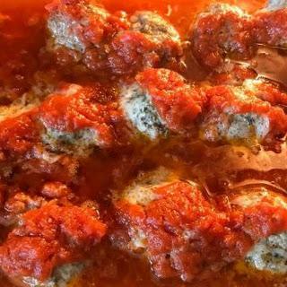 Parmesan Meatballs.