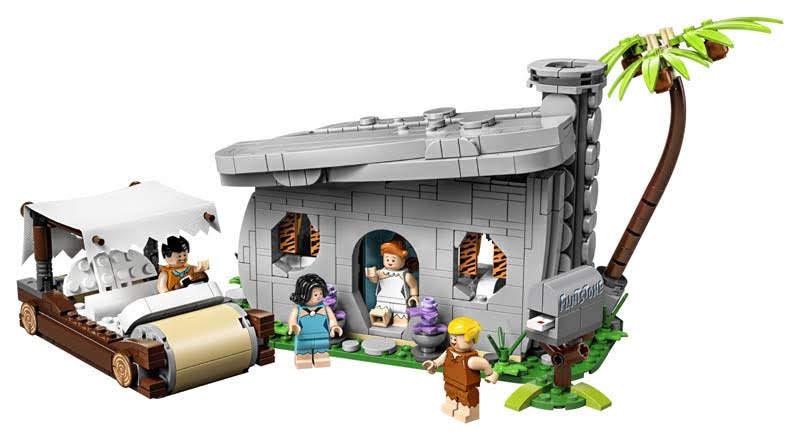 Contenido de Lego® 21316 The Flinstones (Picapiedra)