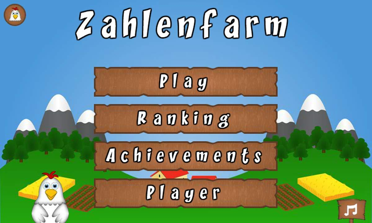 Zahlenfarm- screenshot