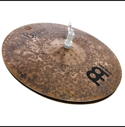 "15"" Meinl Byzance Dark Big Apple Hi-hat - B15BADAH"