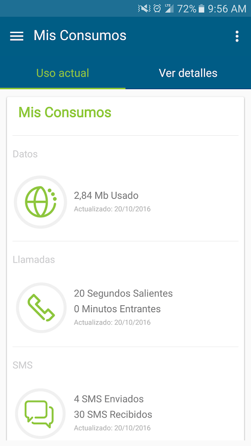 Mi Movistar - UY: captura de pantalla