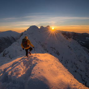 Sunset moments  by Laky Kucej - Landscapes Mountains & Hills (  )