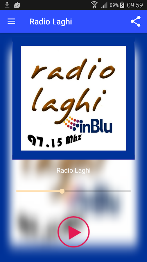 Radio Laghi InBlu- screenshot