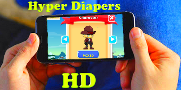Hyper Diapers Adventure  free - náhled