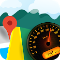 Speedometer Voice GPS Driving Direction Street Map icon
