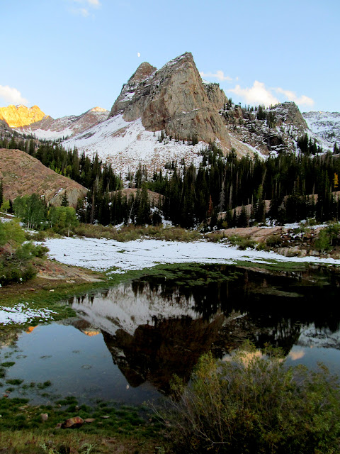 Sundial Peak over Lake Blanche