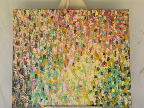 Photo: Cottage Garden 100cmx100cm $350