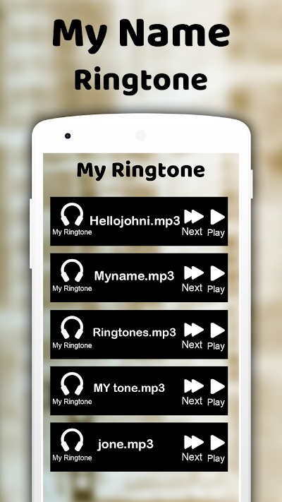 make ringtone of my name with song download