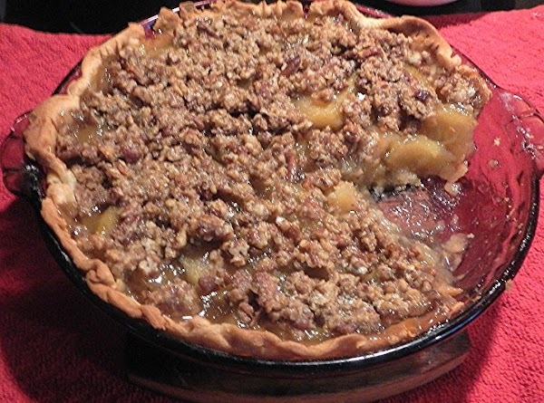 Mycheating Apple Pie  W/ Streusal Crumb Top Recipe