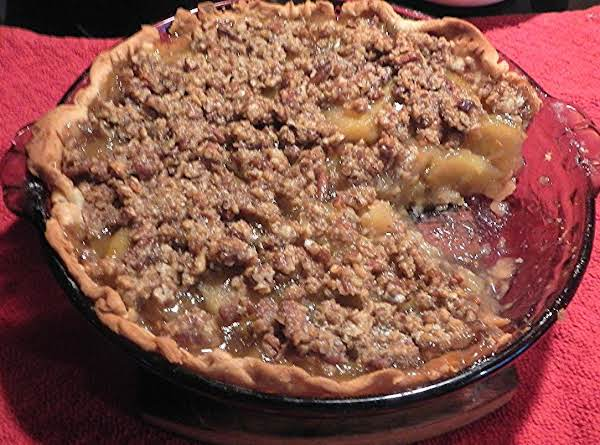 Mycheating Apple Pie  W/ Streusal Crumb Top Recipe