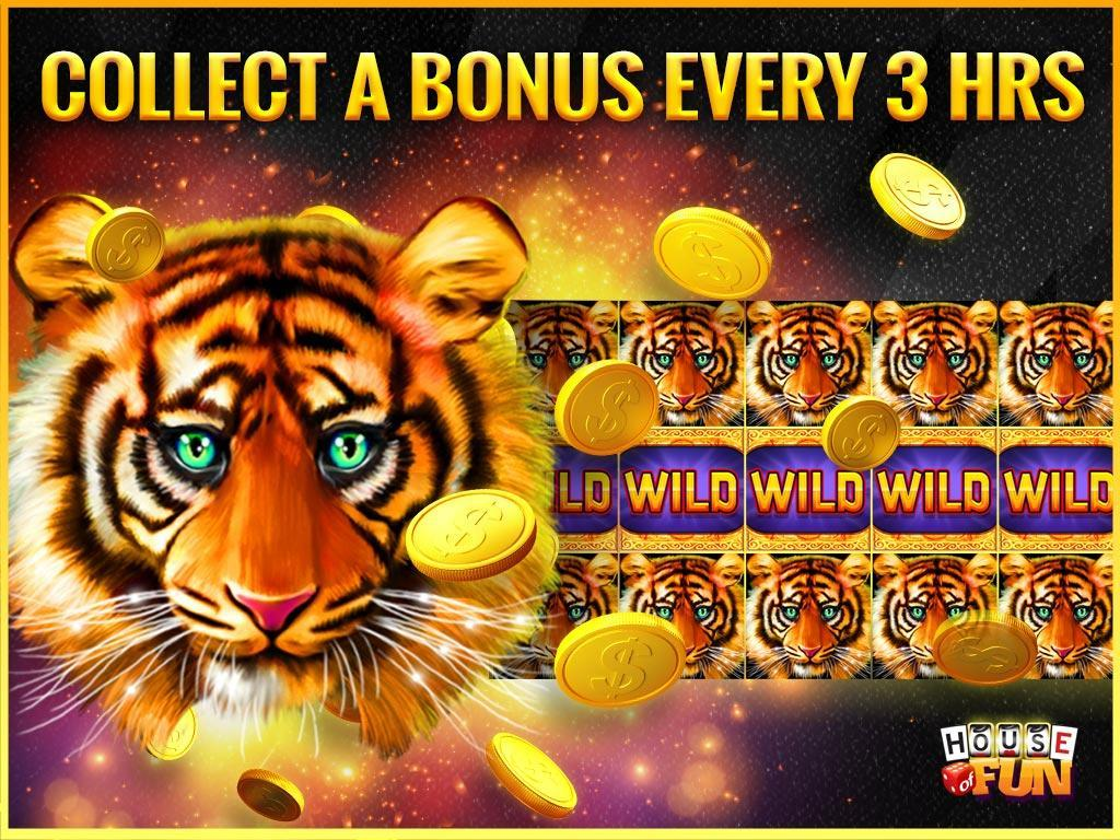 House of fun slot machines free coins