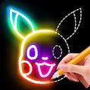 Learn to Draw Glow Cartoon 1.0.10