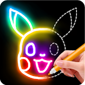 Tải Game Learn to Draw Glow Cartoon