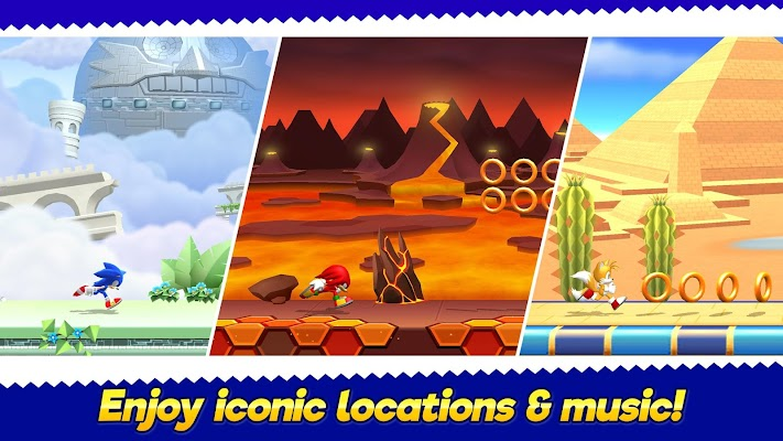 Sonic Runners Adventure- screenshot