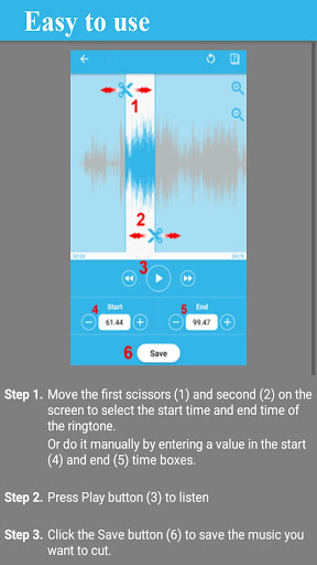 Download Ringtone Maker Pro - Free Mp3 Cutter on PC & Mac with
