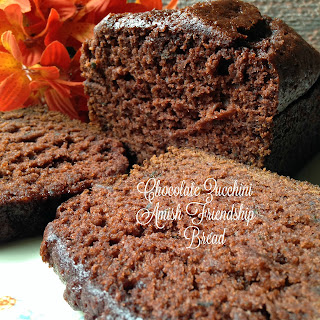 Chocolate Zucchini Amish Friendship Bread