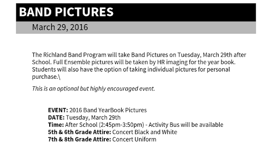 Band Pictures - Google Docs