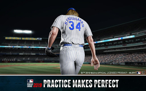 MLB Perfect Inning 2019  captures d'u00e9cran 2