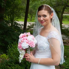 Ready to Wed by Carter Keith - Wedding Bride ( bridal, wedding, wedding dress, bride, portrait,  )