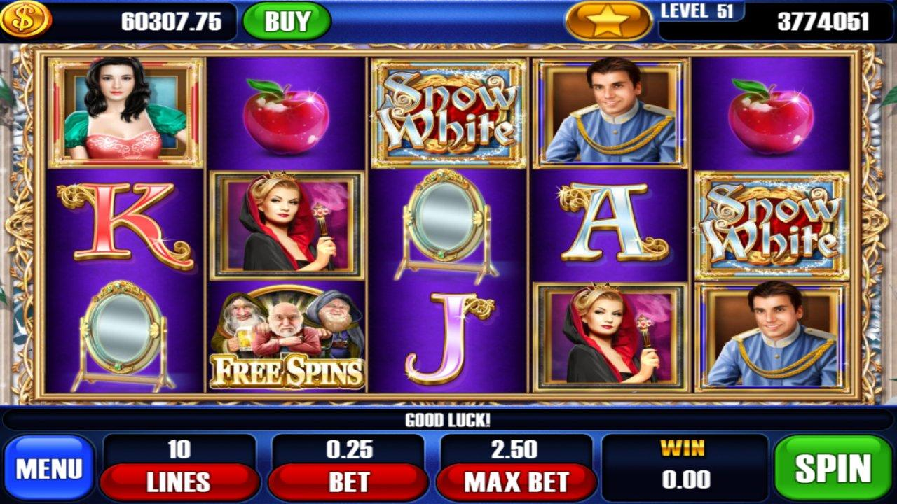 Snow White Slots- screenshot