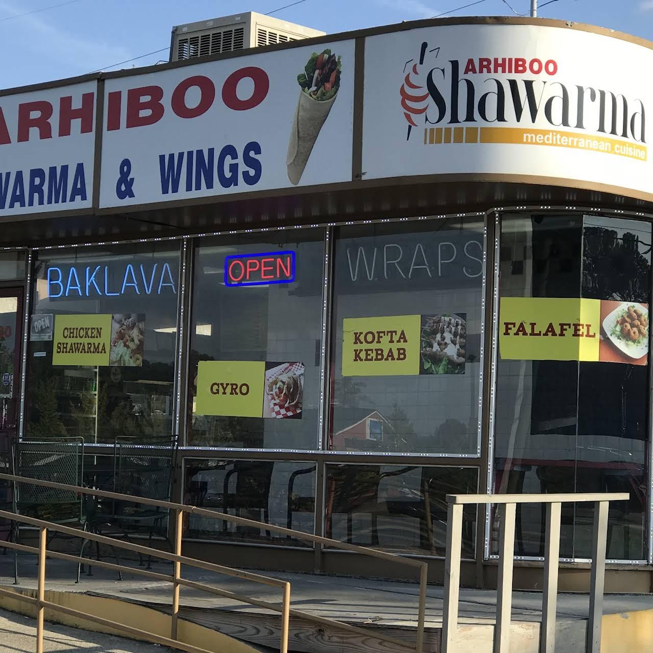 Arhiboo Shawarma - Mediterranean Restaurant in Stone Mountain