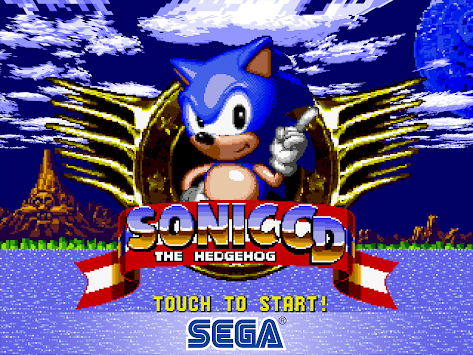 Sonic CD Classic apk screenshot