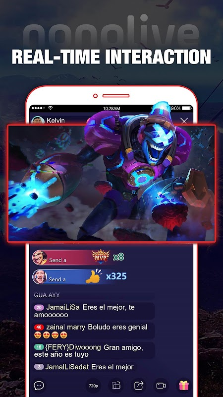 Nonolive - Game Live Streaming & Video Chat screenshots
