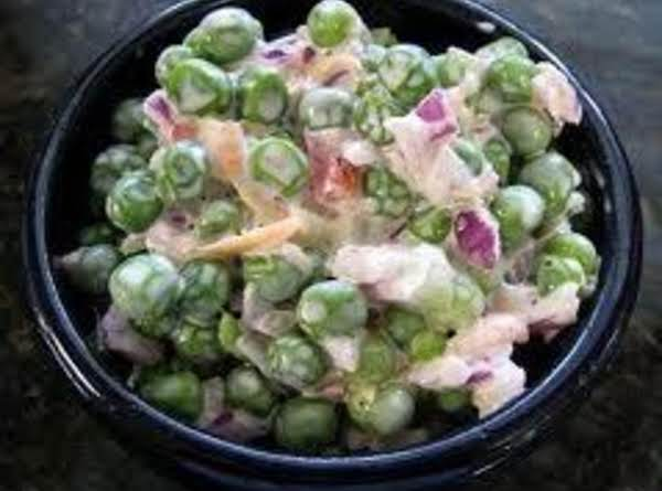 Green Pea Salad (vegetarian)