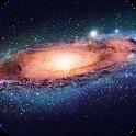 Galaxy HD Live Wallpaper icon