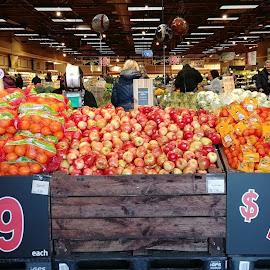 Produce Display - Wegman's by Rita Goebert - Food & Drink Fruits & Vegetables ( produce displays; wegman's food markets; rochester; new york; grocery stores; produce departments;,  )