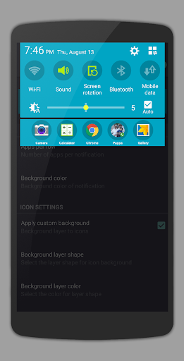 App Shortcuts - Easy App Swipe (TUFFS Pro) app for Android screenshot