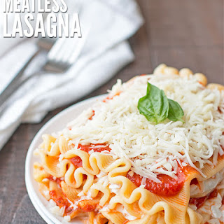 Slow Cooker Meatless Lasagna