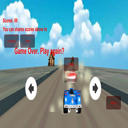 The Sporty Driver- screenshot