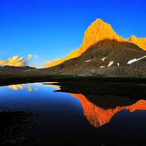 by Mustafa Tor - Landscapes Mountains & Hills ( mountains, reflection )