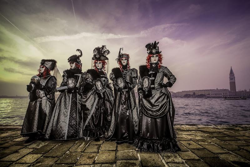 febbraio carnevale le dame in nero di massimo bertozzi