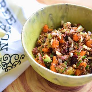 Baby Quinoa Citrus Salad.