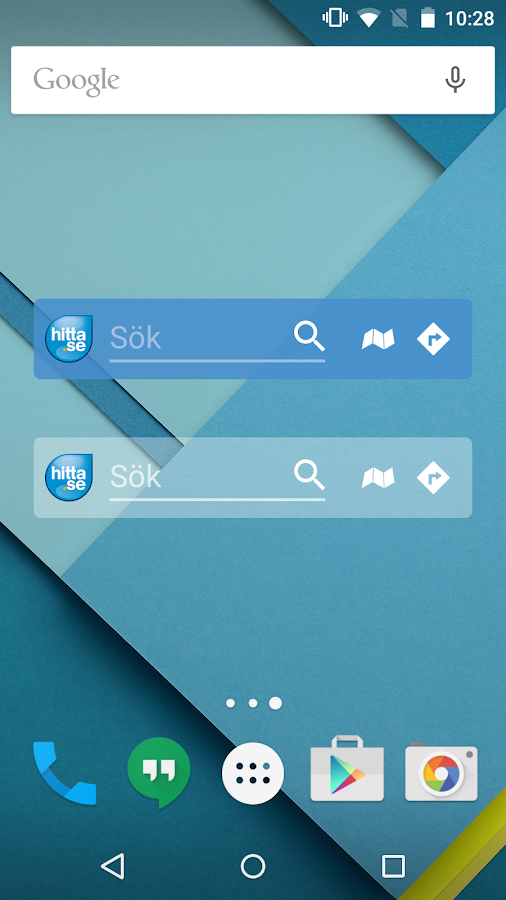 Hitta.se - screenshot