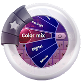 Color mix GO Keyboard