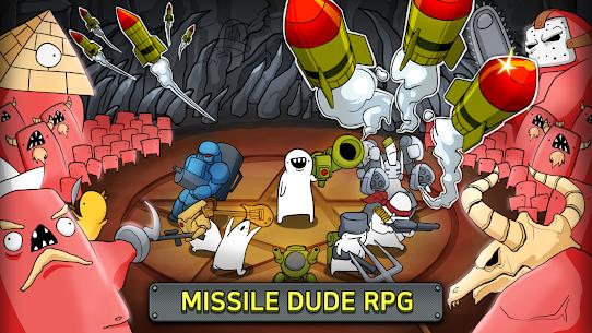 Missile Dude RPG: Tap Tap Missile MOD (Unlimited Uranium/Medal) 1