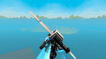 Flying Car Free: Truck Pilot 4 screenshot 711573