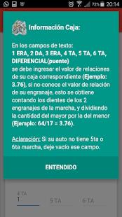 Racing Engine Calculator - náhled