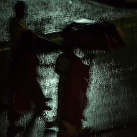 Raining Effect  by Liton Nazrul - Abstract Light Painting