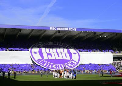 Le RSC Anderlecht annonce qu'il restera à huis-clos tout le mois d'août