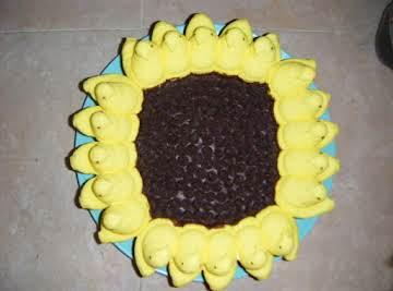 "Peeps ""Sunflower"" Cake"