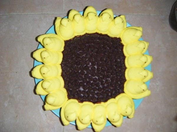 Peeps Sunflower Cake Recipe